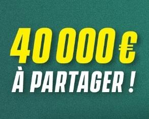 Unibet combis foot 40.000€ à gagner en Mars