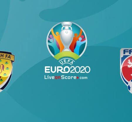 Pronostic Ecosse – République Tchèque – Euro 2020 14/06/21