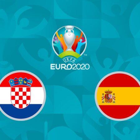 Pronostic Croatie – Espagne – Euro 2020 28/06/21