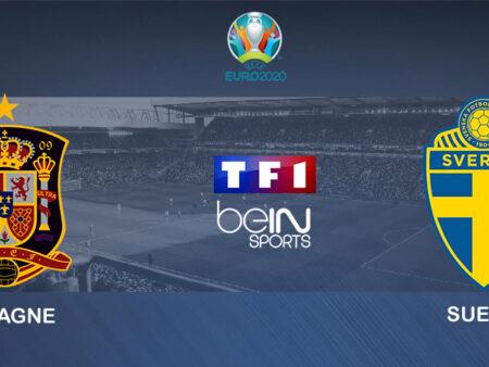 Pronostic Espagne – Suède – Euro 2020 14/06/21