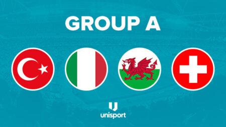 Pronostics Euro 2021 – Groupe A