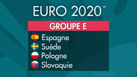 Pronostics Euro 2021 – Groupe E