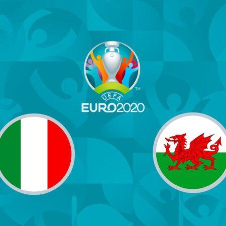 Pronostic Italie – Pays De Galles – Euro 2020 20/06/21