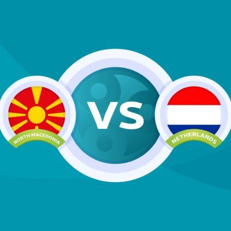 Pronostic Macédoine du Nord – Pays-Bas – Euro 2020 21/06/21