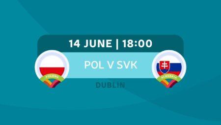 Pronostic Pologne – Slovaquie – Euro 2020 14/06/21