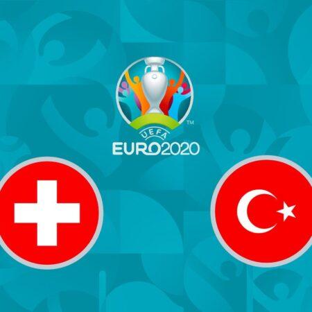 Pronostic Suisse – Turquie – Euro 2020 20/06/21