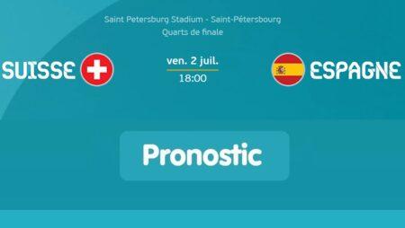 Pronostic Suisse – Espagne – Euro 2020 02/07/21
